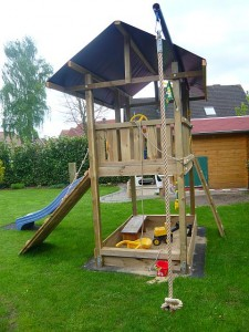 Spielturm Jungle Gym Barrack